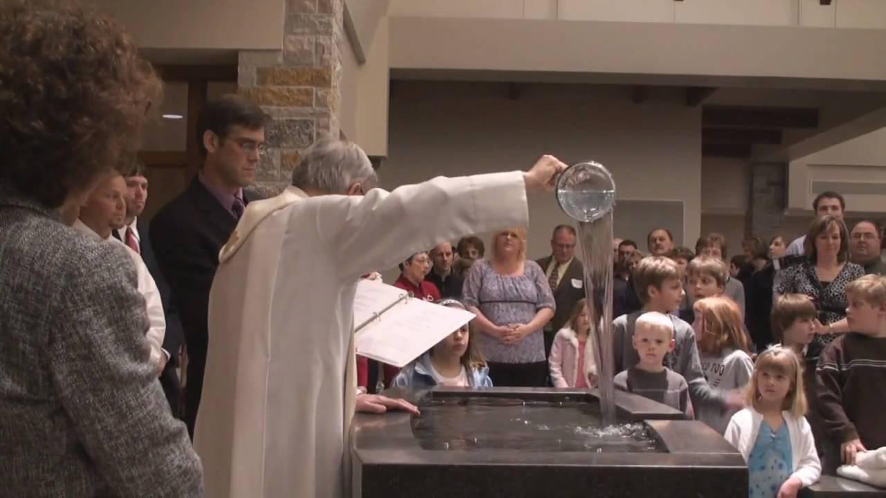Catholic holy water