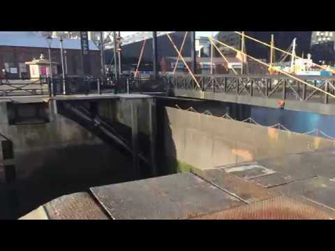 Hydraulic Gates at the Mersey River @ Liverpool