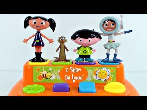 SHOW DA LUNA Pop Up Toys Surprises Learn Colors For Kids Canal KidsToyShow