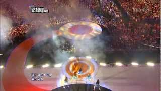 kara pandora sbs 2012 incheon k pop concert live hd
