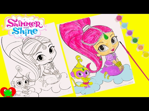 Shimmer and Shine Color Changing Mermaids Dive for