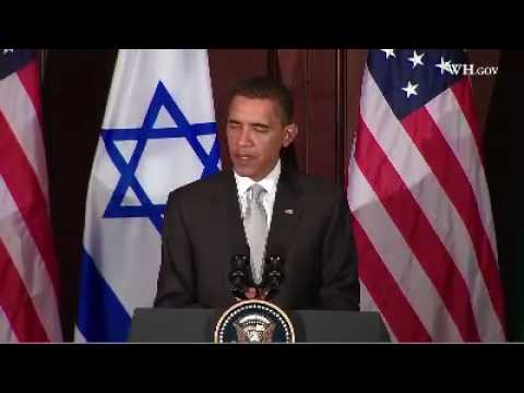 "Obama:""Time To Move Forward"" With Israeli-Palestinian Peace"