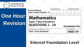 gcse maths terminal paper revision