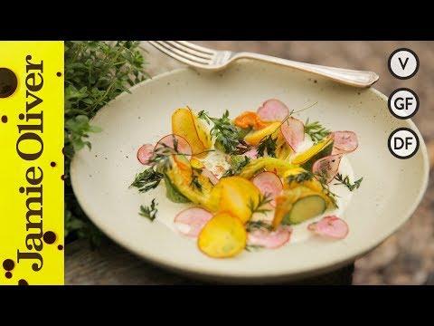 Summer Garden Salad & Homemade Mayonnaise  | Jean Imbert