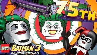 Lego Batman 3: Beyond Gotham Ending - Walkthrough - 75th Anniversary Level