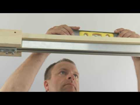 HENDERSON POCKET DOOR 1-DOOR SLIDING TRACK SYSTEM | Screwfix
