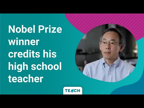 Secretary of Energy Steven Chu talks about the influence of his physics teacher.