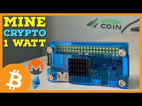 Mining Cryptocurrency With ONLY ~1 WATT?! Custom Raspberry Pi Micro Miner Review