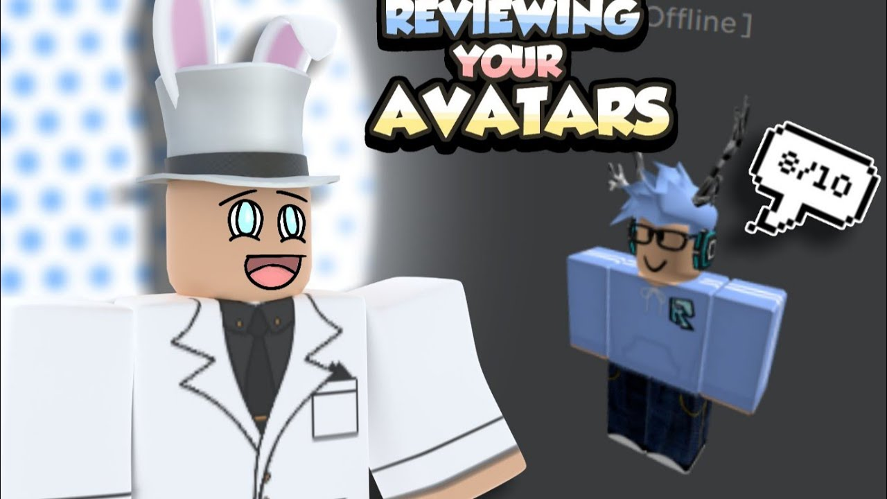 Rating your ROBLOX Avatars!!