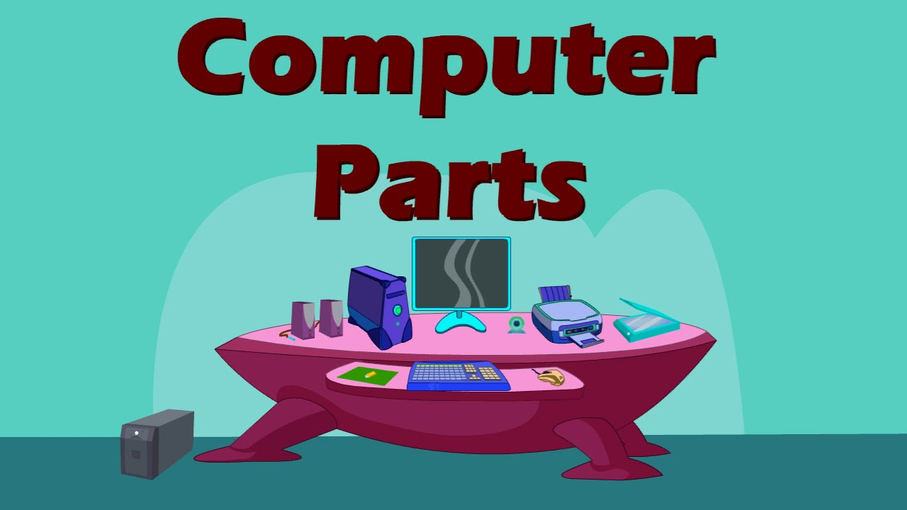 Computer Parts By Little Buds Youtube