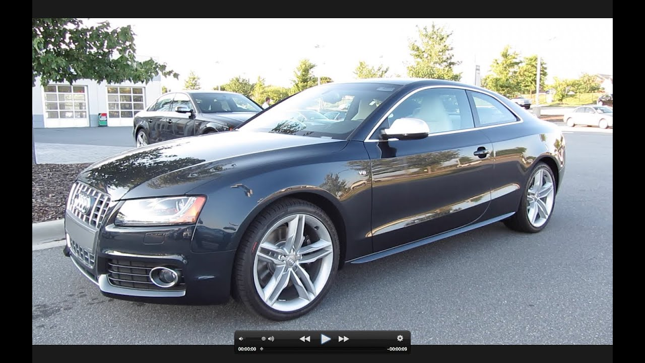 Garage Audi Tours 2012 Audi S5 V8 6 Spd Start Up Exhaust And In Depth Tour