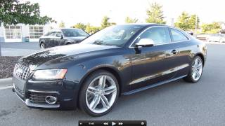 2012 Audi S5 V8 6-spd Start Up, Exhaust, and In Depth Tour