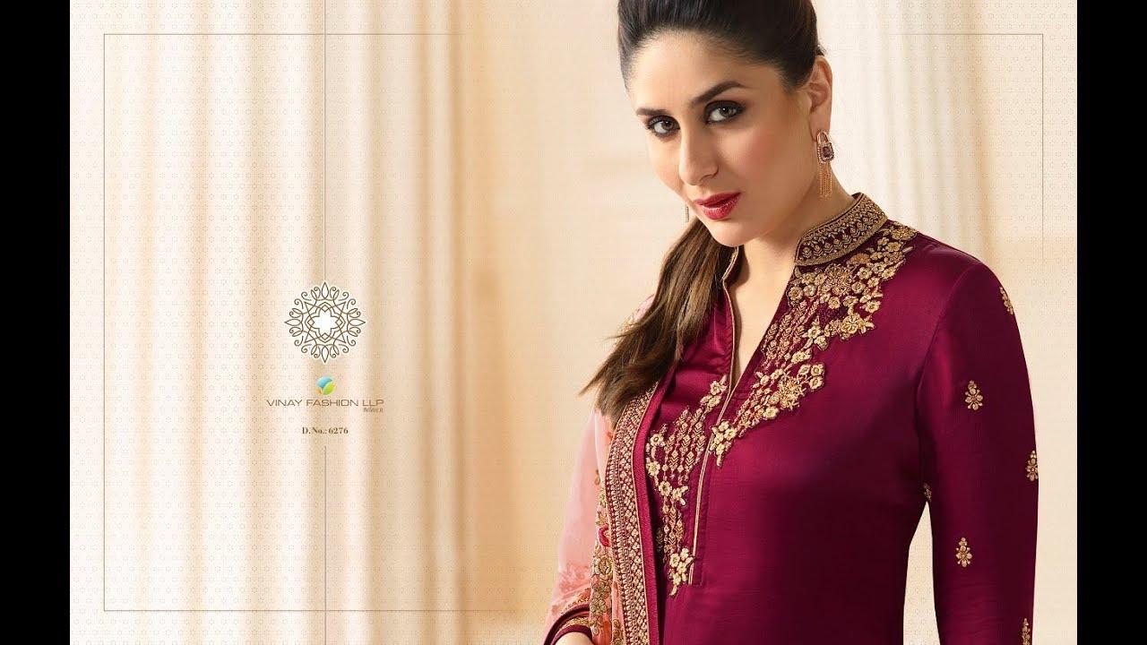 Download Latest Indian Dresses Collections 2017 || Vinay Fashion || Kaseesh-Kareena  3