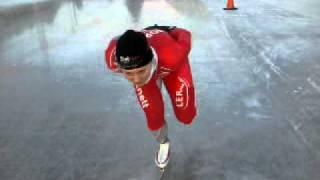 Balanseøvelse skøyter