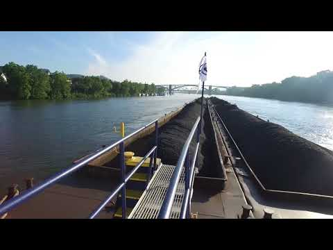 Take A Ride On A Coal Freighter