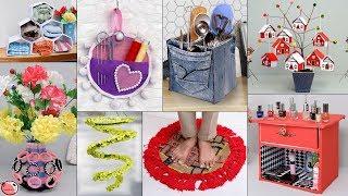 10 All Home Useful Decor Ideas !!! Flower Pot,Doormat,Organization Ideas, Wall Hanging,Storage Idea