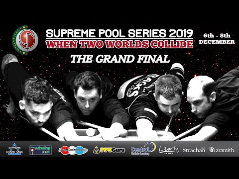 Tom Cousins vs Phil Harrison - L 16 - The Supreme Pool Series Grand Final - T16