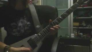 Ghost of Karelia (Mastodon guitar cover) - Dr. Lundsbjerg
