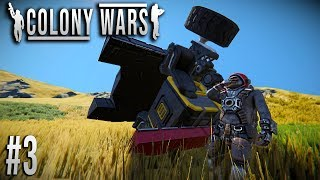 Space Engineers - Colony WARS! - Ep #3 - Rover ACCIDENT!
