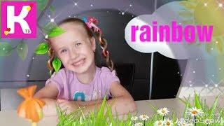 Английский язык для детей / учим погодные явления на английском / Катя ТВ / weather conditions /