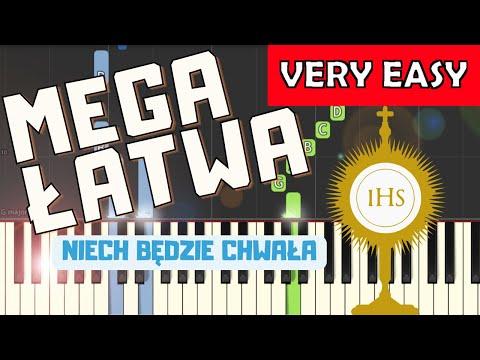 🎹 Niech będzie Chwała i Cześć i Uwielbienie - Piano Tutorial (MEGA ŁATWA wersja) 🎹