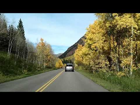 Autumn Drive in Aspen, Colorado: From Maroon Bells to Aspen Fall Dashcam