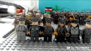 Показ лего войск 2 мировой войны ( ссср ) ( германия )