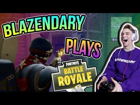 BLAZENDARY PLAYS FORTNITE Funny Moments Glitches And Fails