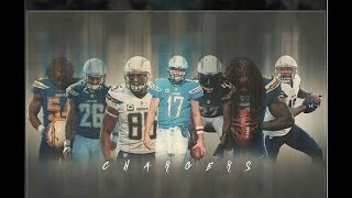Los Angeles Chargers -2017 Highlights- HYPE 2018!