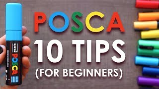 10 Posca Pen Tips for Beginners