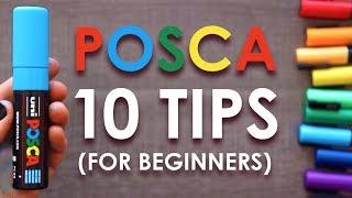 10 Posca Pen Tips for Beginners