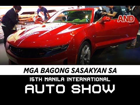 Mga bagong sasakyan sa 15th Manila International Auto Show