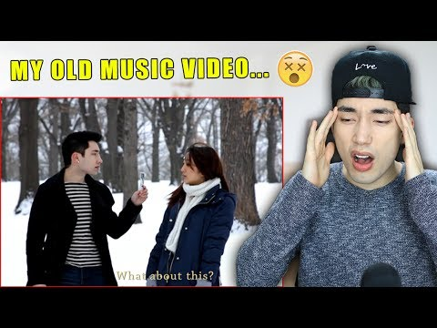 REACTING TO MY CRINGY OLD MUSIC VIDEOS!! (Part 2)