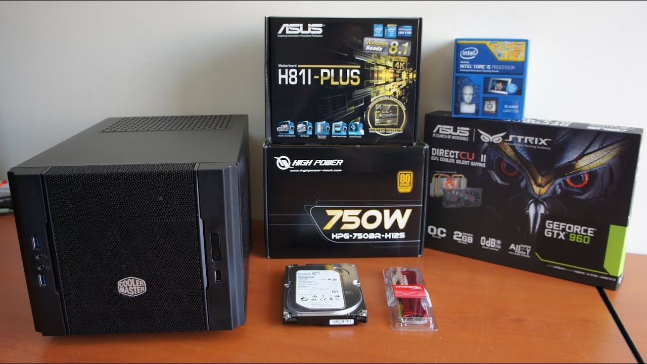 Intel I5 4460 Mini Itx Cube Pc Build Youtube