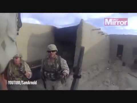 LiveLeak - US Marines Survives Taliban Sniper Shot