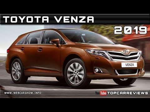 2019 TOYOTA VENZA Review Rendered Price Specs Release Date
