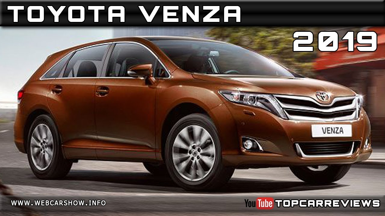 2019 TOYOTA VENZA Review Rendered Price Specs Release Date ...