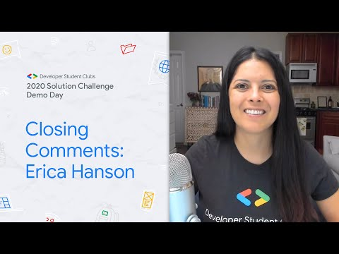 Solution Challenge Demo Day 2020 closing comments
