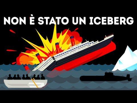 Un Sopravvissuto del Titanic Sostiene che non  stato un Iceberg ad Affondare la Nave