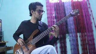 Six Feet Under - The Curse of Ancients - Unborn 2013 Bass Cover by Zaber Ahmed.