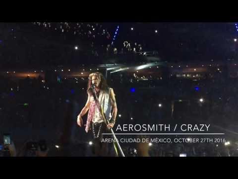 Aerosmith, Crazy at live at Arena Ciudad de México October 2016