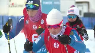 Дети Азии: Лыжные гонки. Смешанная эстафета 2х2