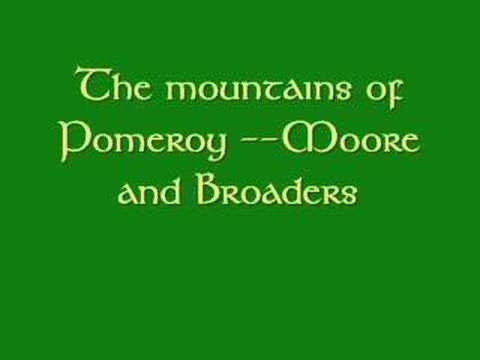 The mountains of Pomeroy
