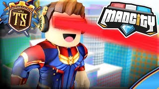 A NEW SUPERHERO IS THE COUNTRY OF MAD CITY! -Mad City | Danish Roblox