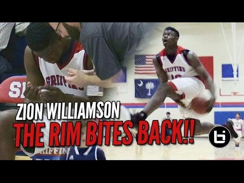 Zion Williamson Attempts In-Game Eastbay & Rim Bites Back!