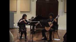 Castelnuovo-Tedesco: Sonatina for flute & guitar - Dan & Jess