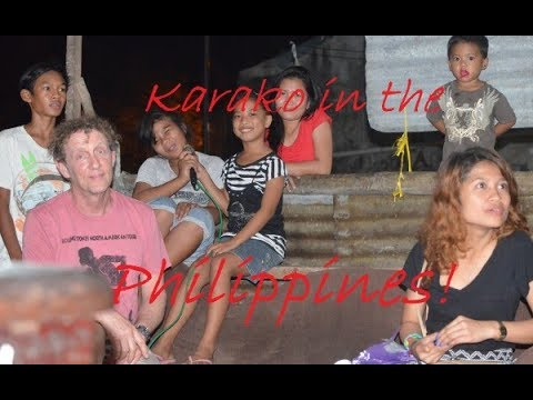 Singing Karaoke in the Philippines