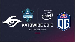 Live English Stream: Team Secret vs OG | Best of 2 | ESL One Katowice | Group Stage