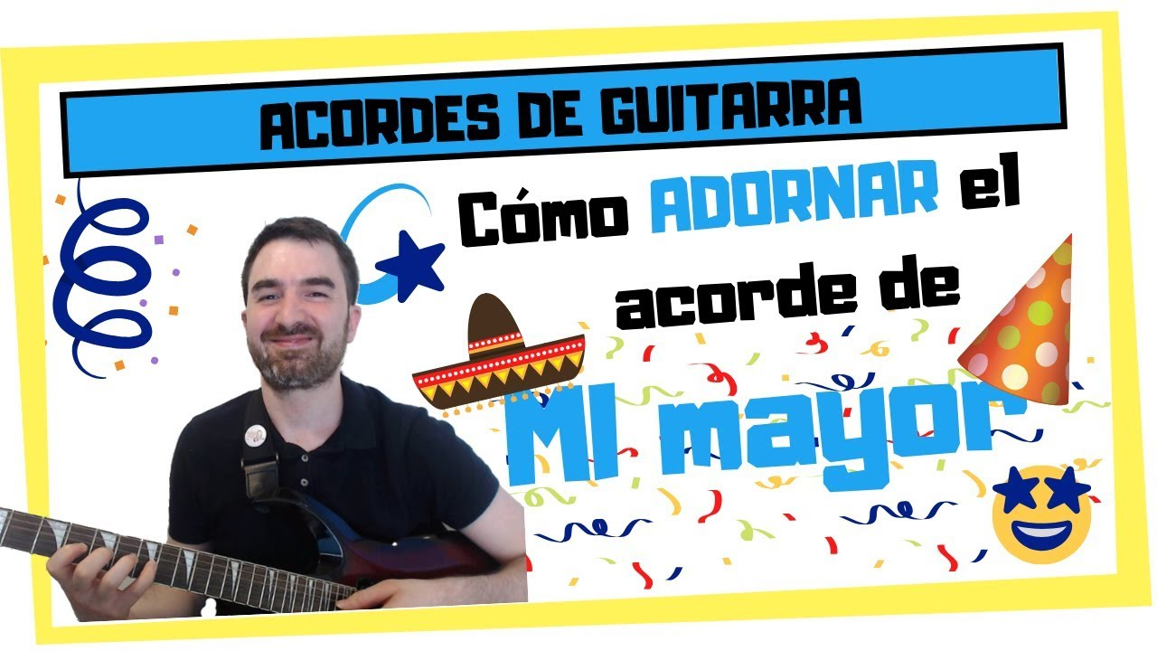 """🔥 DESTRIPANDO el acorde MI en Guitarra 🎸 (y cómo """"ADORNARLO"""")"""