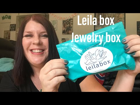 *NEW*// LEILA BOX// 2018// JEWELRY SUBSCRIPTION BOX//PLUS 💵COUPON CODE💵